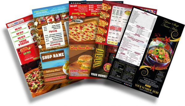 Flyer and leaflet printing
